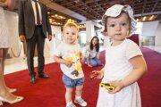 Na snímke deti poslancov počas 2. ročníka podujatia Vezmite dieťa do práce.