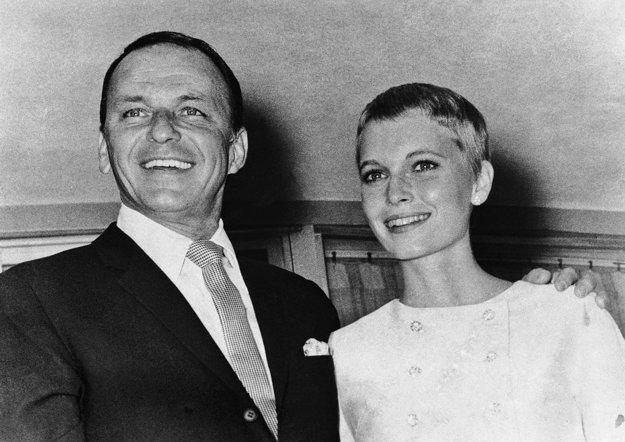 Mia Farrow a Frank Sinatra