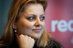 Spisovateľka a vydavateľka Eva Urbaníková.