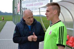 Miroslav Barnáš. Tréner Beľanov bol po zápase sNálepkovom spokojný.