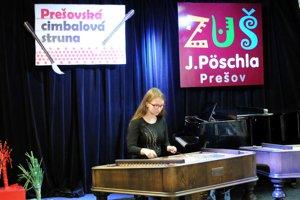Z cimbalovej súťaže. V Prešove sa konal jej druhý ročník.