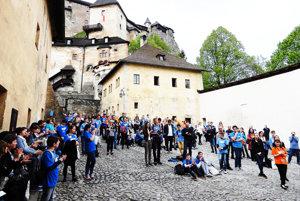 Na Oravský hrad prišli inteligenti z celého Slovenska.