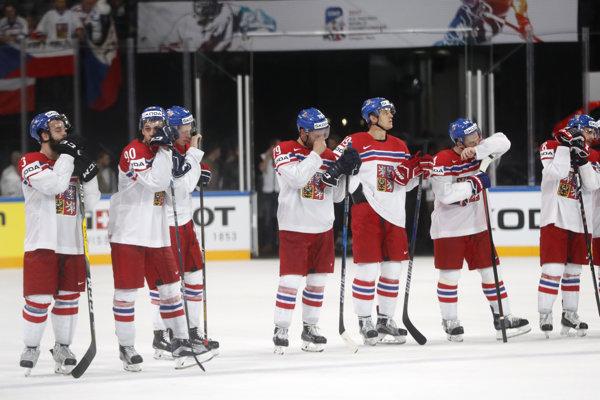 Českí hokejisti skončili tento rok na majstrovstvách sveta vo štvrťfinále.