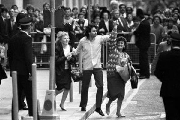 Gerry Conlon po prepustení na slobodu v roku 1989.
