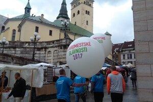 Centrum Žiliny ožilo Staromestskými slávnosťami.