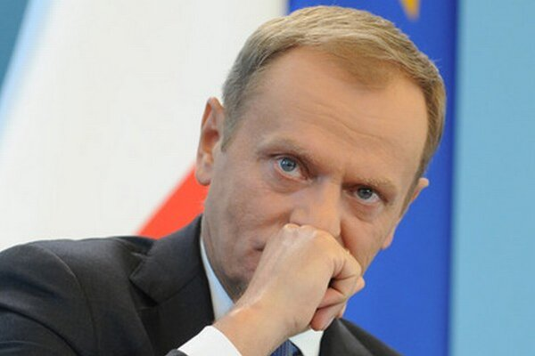 Tusk podporil opozičnú prezidentskú kandidátku Kidawovú-Bloňskú