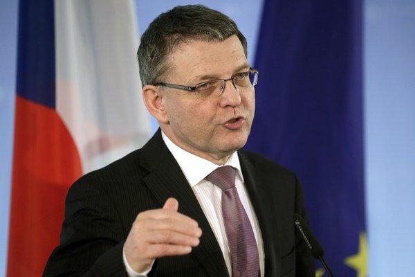 Český minister zahraničných vecí Lubomír Zaorálek.