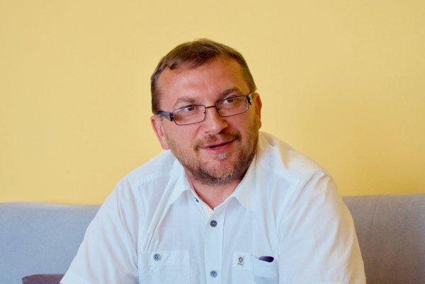 Michal Orihel. Nový riaditeľ topoľčianskej nemocnice.