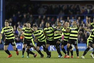Hráči Huddersfieldu postúpili do Premier League.