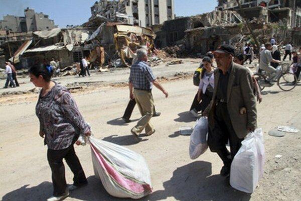 Sýrčania odchádzajú zo svojich domovov.