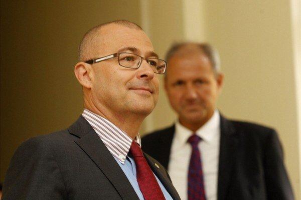 Exminister obrany Martin Barták.