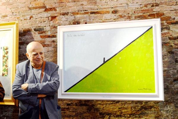 Ivan Mládek a jeho obraz: Bača ide do hôr