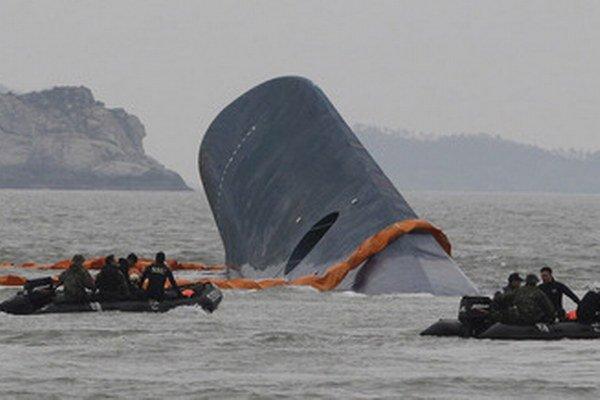 Trajektu Sewol sa potopil 16. apríla.