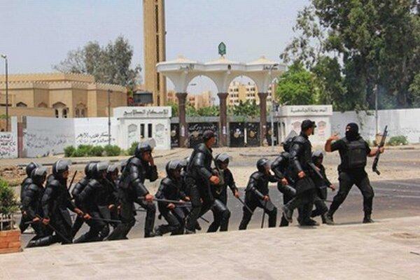Egyptskí policajti.