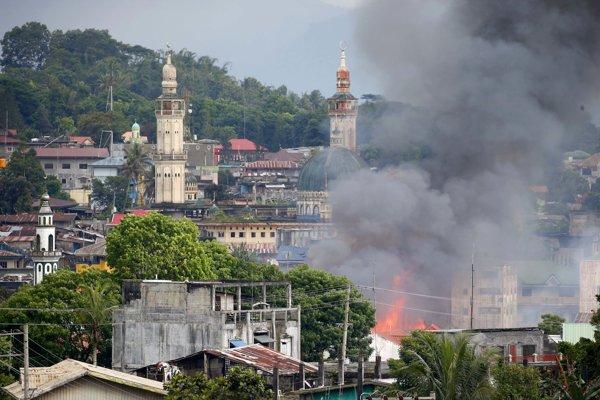 Filipínske mesto Marawi zničila v roku 2017 vojna medzi islamistami a vládnymi jednotkami.