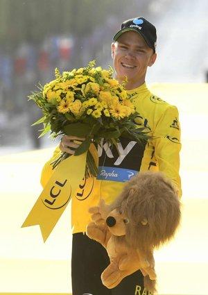 Chris Froome je štvornásobným víťazom Tour de France. Ovládol pritom posledné tri ročníky.