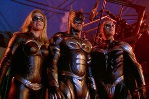 Alicia Silverstone ako Batgirl vo filme Batman a Robin z roku 1997.