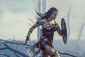 Gal Gadot vo filme Wonder Woman.