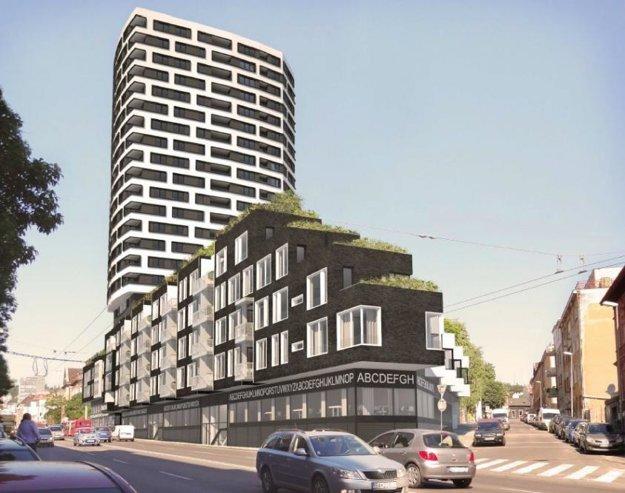 Takto má vyzerať hotový projekt Premiére na Šancovej ulici.