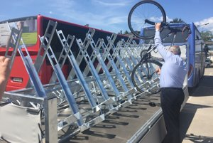 Autobus svlečkou odvezie maximálne 24 bicyklov.