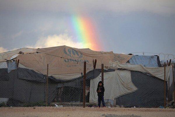 V Jordánsku žije takmer štvrtina z 2,5 milióna sýrskych utečencov.