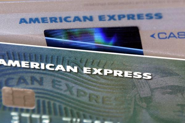 Kreditné karty American Express.