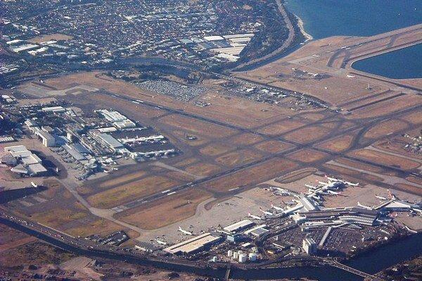 Dosiaľ jediné letisko v Sydney.