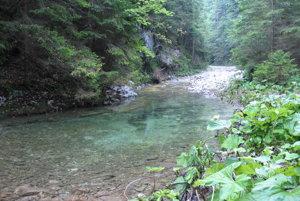 Biely potok.