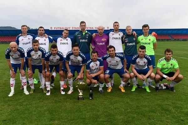Borčickí futbalisti prebrali pohár za víťazstvo v IV. lige severozápad.