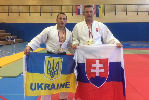 Nikolaj Dankanych aVladimír Homola (vpravo).