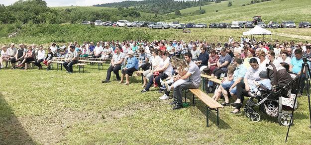 Organizátorov potešilo približne päťsto návštevníkov.