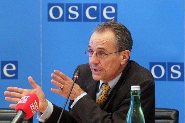 Osobitý vyslanec predsedu OBSE pre Ukrajinu Tim Guldimann.