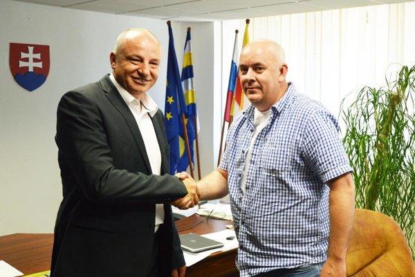 Primátor Šale Jozef Belický rokoval so šéfom ObFZ Nitra Štefanom Kormanom.