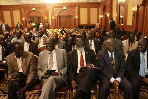 Vládni a povstaleckí vyjednávači rokujú v luxusnom hoteli v etiópskej Addis Abebe.