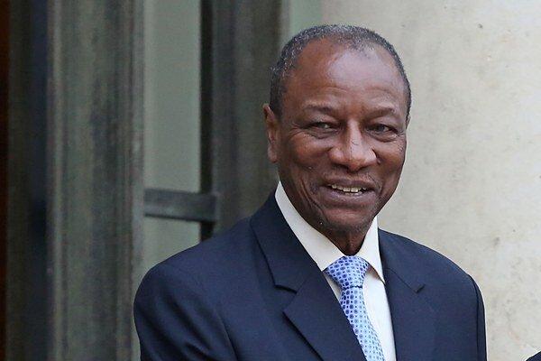 Prezident Alpha Condé.