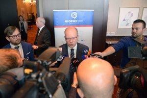 Bohuslav Sobotka bol v máji na bratislavskej konferencii Globsec.