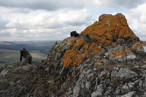 Na Veľkej skale.