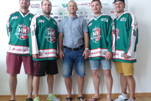 Zľava René Jarolín, Martin Hujsa, Miroslav Lipovský, Roman Jurák a Aleš Dufek.