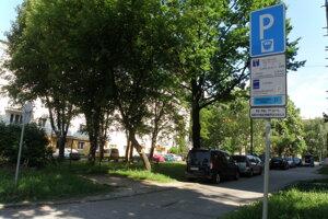 Rezidentské pásmo v Prievidzi.