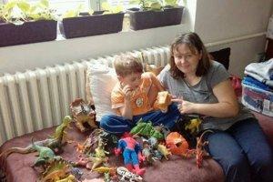 Janka a jej syn Lukáško sú vďační za každú pomoc.