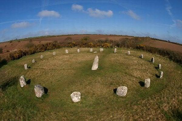 Kamenný kruh Boscawen-Un.