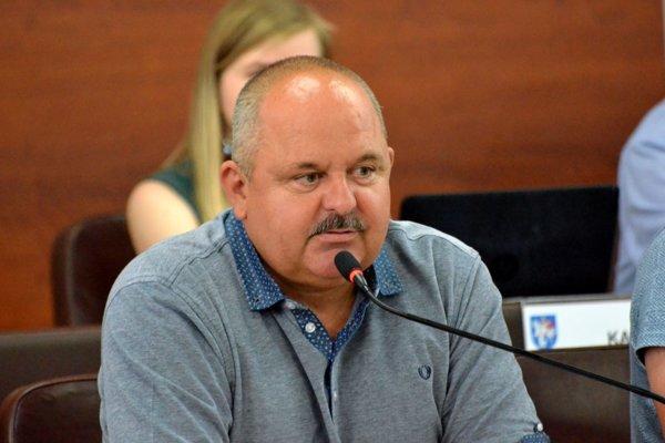 Peter Kašuba, poslanec a predseda Výboru mestskej časti Martin - Priekopa.