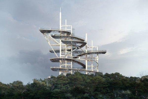 Vizualizácia vyhliadkovej veže.