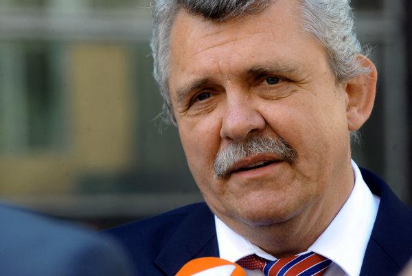 Poslanec Peter Marček.