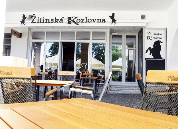 V Žiline na Mariánskom námestí je otvorená nová Žilinská Kozlovna.