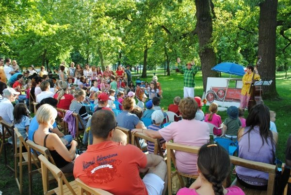 Rozprávka v Zámockom parku