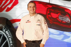 Poľský automobilový pretekár Robert Kubica.