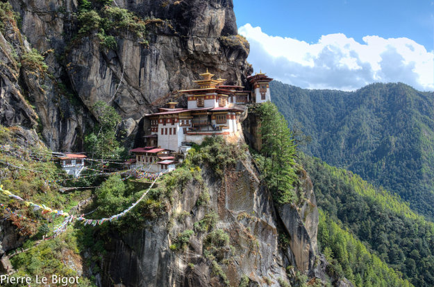 Bhután je hornatá krajina plná adrenalínu.