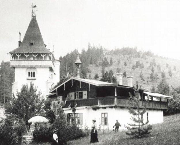 Štróblova vila Štróblova vila aTirolský dom vminulosti.