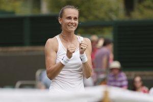 Magdaléna Rybáriková postúpila do osemfinále vo Wimbledone.